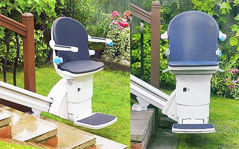 Handicare 1000 Straight Outdoor Stairlift